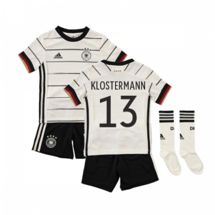 2020-2021 Germany Home Adidas Mini Kit (KLOSTERMANN 13)