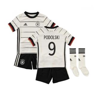 2020-2021 Germany Home Adidas Mini Kit (PODOLSKI 9)