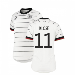 2020-2021 Germany Home Adidas Womens Shirt (KLOSE 11)