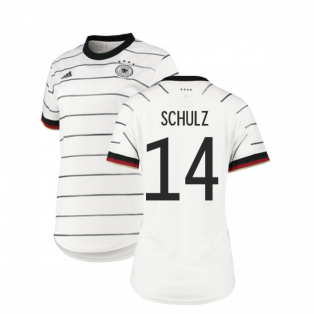 2020-2021 Germany Home Adidas Womens Shirt (SCHULZ 14)