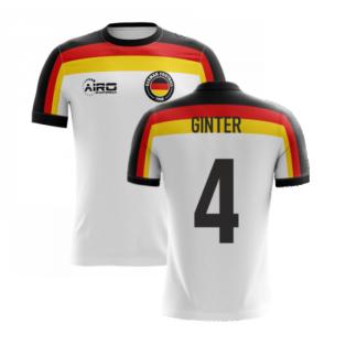 2020-2021 Germany Home Concept Football Shirt (Ginter 4) - Kids