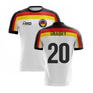 2020-2021 Germany Home Concept Football Shirt (Gnabry 20)