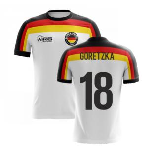 2020-2021 Germany Home Concept Football Shirt (Goretzka 18) - Kids