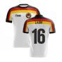 2020-2021 Germany Home Concept Football Shirt (Lahm 16)