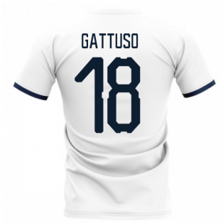 2020-2021 Glasgow Away Concept Football Shirt (GATTUSO 18)