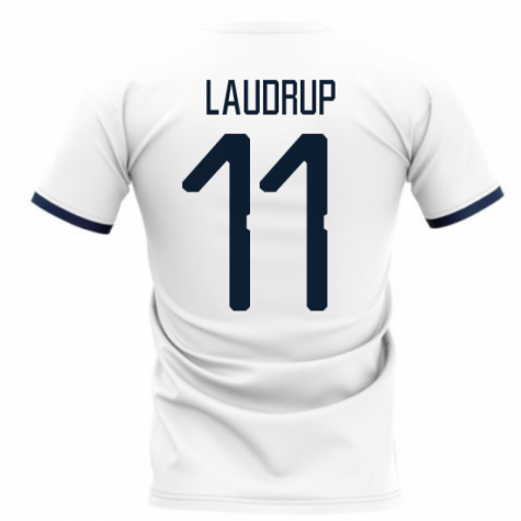 2020-2021 Glasgow Away Concept Football Shirt (LAUDRUP 11)