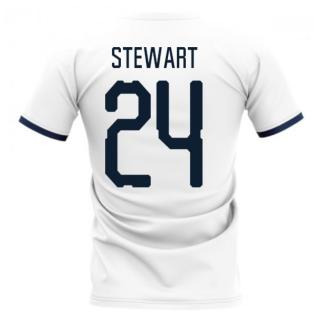 2020-2021 Glasgow Away Concept Football Shirt (Stewart 24)