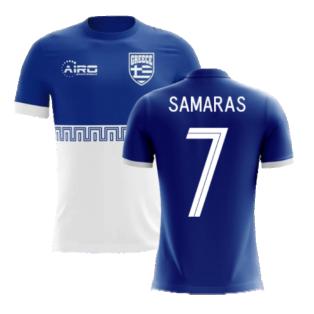 2020-2021 Greece Away Concept Football Shirt (SAMARAS 7) - Kids