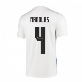 2020-2021 Greece Home Nike Football Shirt (MANOLAS 4)