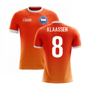 2020-2021 Holland Airo Concept Home Shirt (Klaassen 8) - Kids