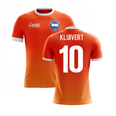 2020-2021 Holland Airo Concept Home Shirt (Kluivert 10)