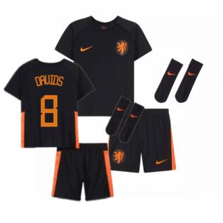 2020-2021 Holland Away Nike Baby Kit (DAVIDS 8)