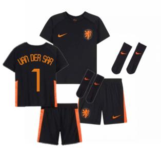 2020-2021 Holland Away Nike Baby Kit (VAN DER SAR 1)