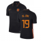 2020-2021 Holland Away Nike Football Shirt (DE JONG 19)