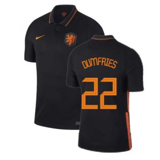 2020-2021 Holland Away Nike Football Shirt (DUMFRIES 22)