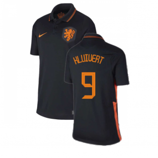 2020-2021 Holland Away Nike Football Shirt (Kids) (KLUIVERT 9)