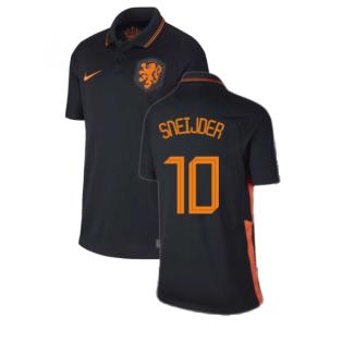 2020-2021 Holland Away Nike Football Shirt (Kids) (SNEIJDER 10)