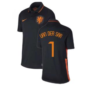 2020-2021 Holland Away Nike Football Shirt (Kids) (VAN DER SAR 1)