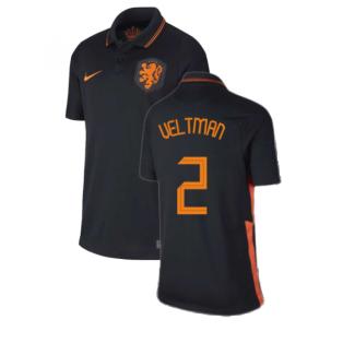 2020-2021 Holland Away Nike Football Shirt (Kids) (VELTMAN 2)