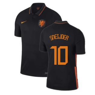 2020-2021 Holland Away Nike Football Shirt (SNEIJDER 10)