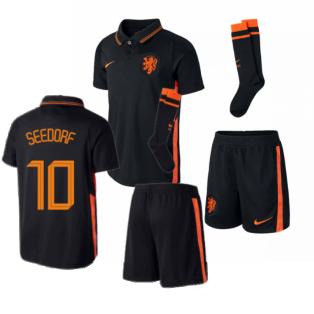 2020-2021 Holland Away Nike Mini Kit (SEEDORF 10)