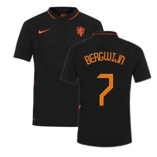 2020-2021 Holland Away Nike Vapor Match Shirt (BERGWIJN 7)