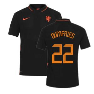 2020-2021 Holland Away Nike Vapor Match Shirt (DUMFRIES 22)