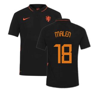 2020-2021 Holland Away Nike Vapor Match Shirt (MALEN 18)