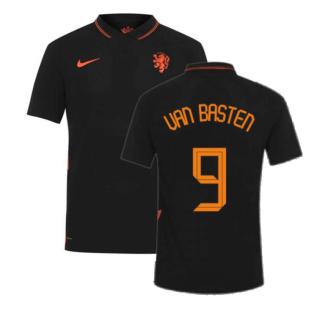 2020-2021 Holland Away Nike Vapor Match Shirt (VAN BASTEN 9)