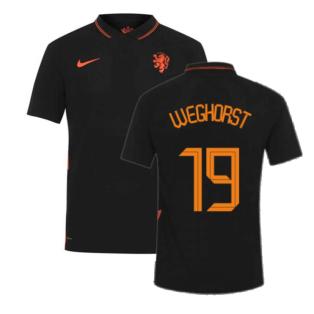 2020-2021 Holland Away Nike Vapor Match Shirt (WEGHORST 19)