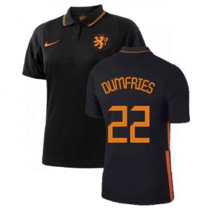 2020-2021 Holland Away Nike Womens Shirt (DUMFRIES 22)