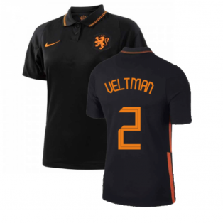 2020-2021 Holland Away Nike Womens Shirt (VELTMAN 2)