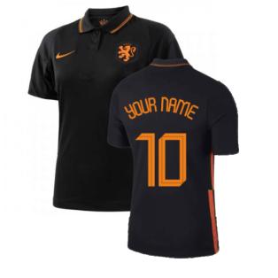 2020-2021 Holland Away Nike Womens Shirt (Your Name)