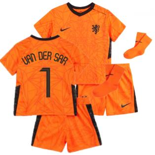 2020-2021 Holland Home Nike Baby Kit (VAN DER SAR 1)