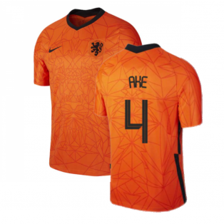 2020-2021 Holland Home Nike Football Shirt (AKE 4)