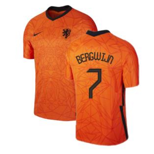 2020-2021 Holland Home Nike Football Shirt (BERGWIJN 7)