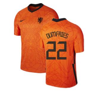 2020-2021 Holland Home Nike Football Shirt (DUMFRIES 22)