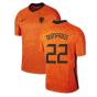 2020-2021 Holland Home Nike Football Shirt (Kids) (DUMFRIES 22)