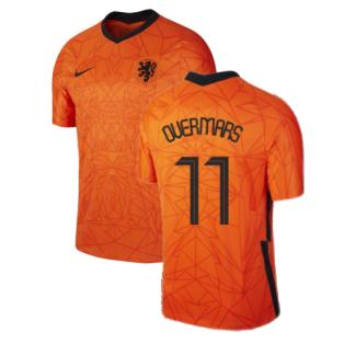 2020-2021 Holland Home Nike Football Shirt (Kids) (OVERMARS 11)