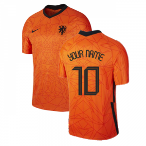 2020-2021 Holland Home Nike Football Shirt (Kids)