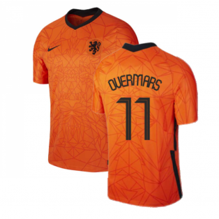 2020-2021 Holland Home Nike Football Shirt (OVERMARS 11)