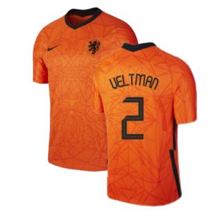 2020-2021 Holland Home Nike Football Shirt (VELTMAN 2)