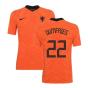 2020-2021 Holland Home Nike Vapor Match Shirt (DUMFRIES 22)