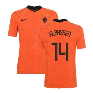 2020-2021 Holland Home Nike Vapor Match Shirt (KLAASSEN 14)