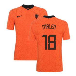 2020-2021 Holland Home Nike Vapor Match Shirt (MALEN 18)