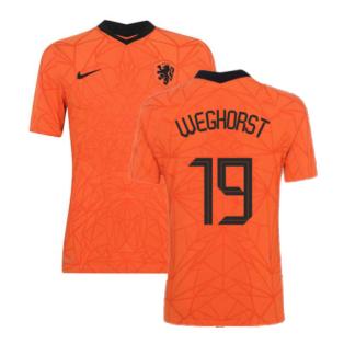 2020-2021 Holland Home Nike Vapor Match Shirt (WEGHORST 19)