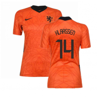 2020-2021 Holland Home Nike Womens Shirt (KLAASSEN 14)