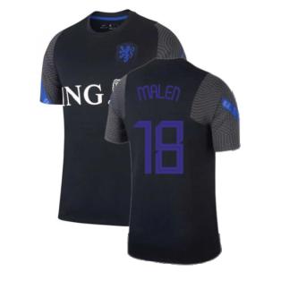 2020-2021 Holland Nike Training Shirt (Black) - Kids (MALEN 18)