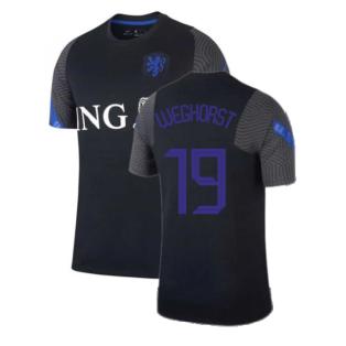 2020-2021 Holland Nike Training Shirt (Black) - Kids (WEGHORST 19)