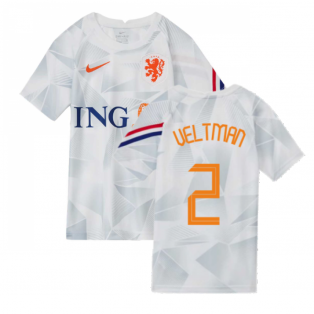 2020-2021 Holland Pre-Match Training Shirt (White) - Kids (VELTMAN 2)
